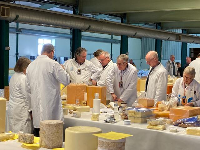 Cheese judging returns
